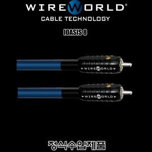 WireWorld OASIS 8/수입正品/1m/RCA 케이블
