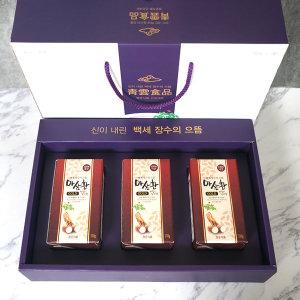 청운식품 마삼환 3종세트 국내산 100% 참 마 /풍기인삼