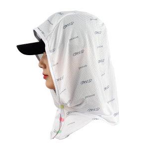 스타드 후드형 얼굴 햇빛가리개 모자 자외선차단 쿨링