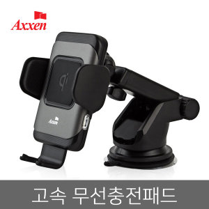 C300 차량용 고속무선충전기 / qi인증 / 송풍구 겸용