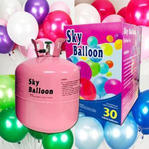 헬륨가스 30p 20p 헬륨 풍선 생일 파티용품 파티 선물