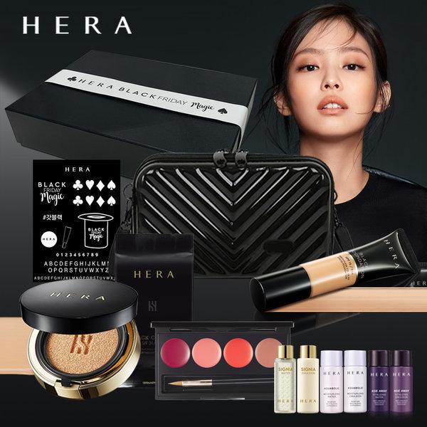 헤라 블랙BOX 21호 (블랙쿠션+파운데이션+파우치)