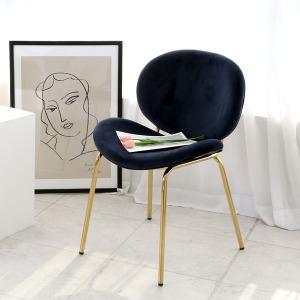 딜리스 골드벨벳 체어 인테리어 식탁 카페 의자