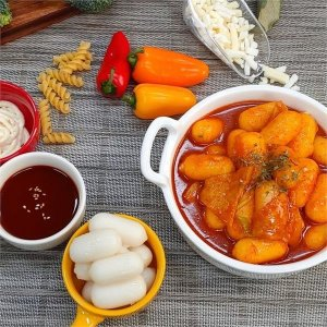 떡이오  국산쌀 치즈떡볶이 500g