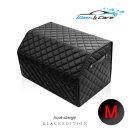 블랙에디션 가죽 퀄팅 트렁크정리함(M) 세차용품 보관