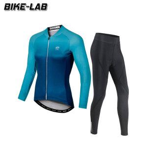 BIKELAB  여성 긴팔 자전거의류 상하세트 XFLJS001