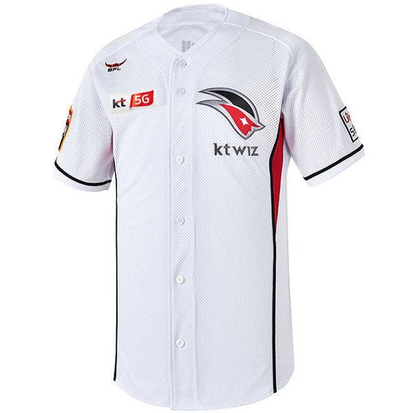 KT 위즈 2018 어센틱 유니폼 (백색) 홈