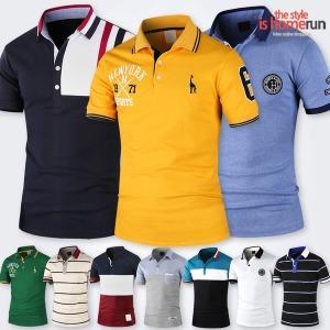 반팔카라티/티셔츠/빅사이즈/남성/남자/골프/폴로여름