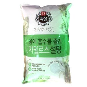 매실청 기획/ 백설 자일로스설탕 5kg