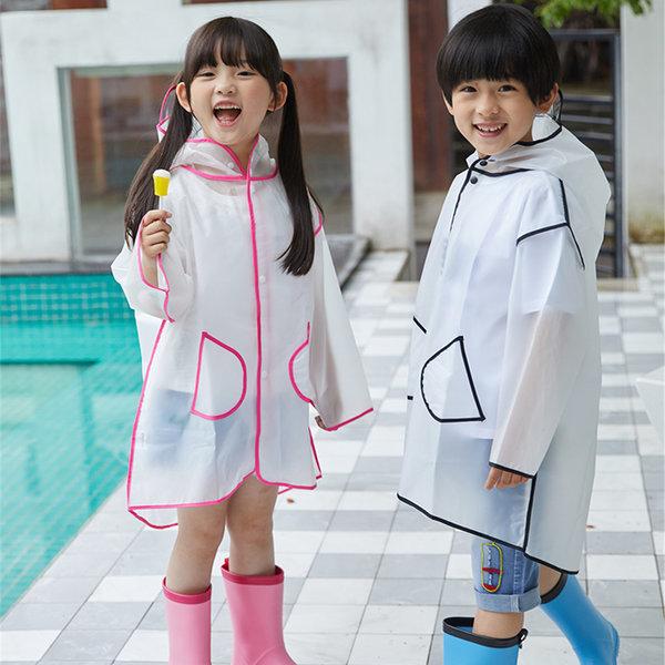 INS 유행 유아우비 아동우비 어린이 비옷 친환경 소재