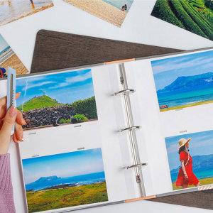 작은사진관 중형 바인더 포켓식 백지내지 포토앨범