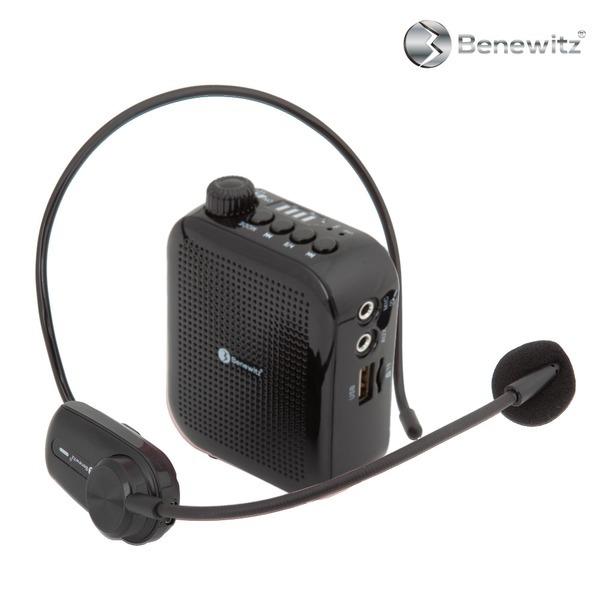 베네위츠 UHF강의용 교사용 수업용 무선 마이크 블랙