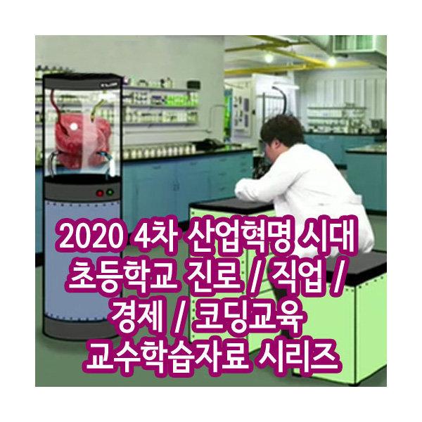 2020 초등 교수학습자료: 진로/직업/경제/코딩 DVD