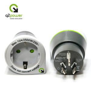 아트박스/큐투파워  Q2 Power  Eruope to Australia/호주 중국 뉴질랜드 에서 사용
