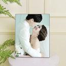 아크릴액자 8x10(20x25cm)결혼웨딩 가족사진 주문제작