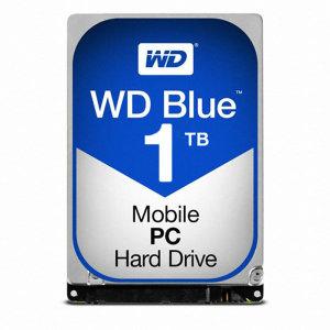 공식유통사 HDD SATA3 2.5인치 1TB BLUE (WD10SPZX)