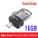 샌디스크 Ultra Dual OTG M3.0 USB SDDD3 16GB 정품