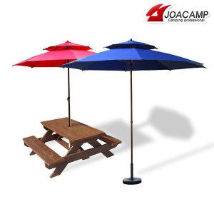 220CM 대형 야외파라솔 정원 낚시 캠핑 비치 휴대용