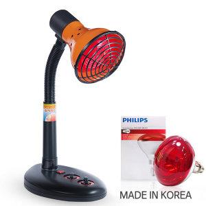 개인용 적외선 조사기 YL-250 필립스 램프 간편조작