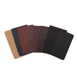 천연 민무늬가죽 커버 가죽스티커 의자/소파리폼 4pcs