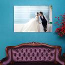 캔버스액자 11x14(27x35cm)결혼 웨딩 가족사진 돌잔치