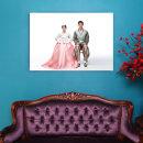 캔버스액자 12x17(30x42cm)결혼 웨딩 가족사진 돌잔치