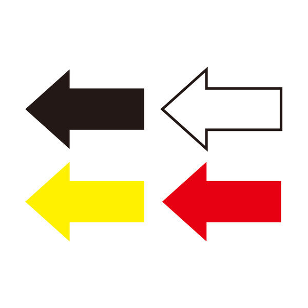 방향표시 화살표스티커