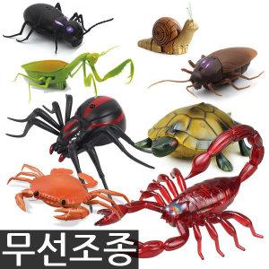 반디 무선조종 RC/미니달팽이/사슴벌레/전갈/꿀벌/사