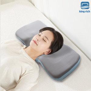 킹리치3D 프리미엄 메모리폼 경추베개 편안한 목베개