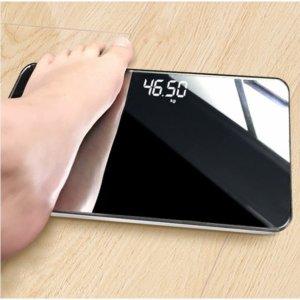 세련된 거울 미니체중계 휴대용체중계 디지털체중계