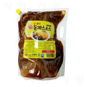 오뚜기 부어먹는 돈까스소스 2kg x 6개 박스