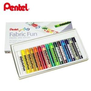 펜텔 옷그림파스텔 15색 염색 파스텔 K 소프트파스텔