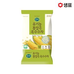 순작 유기농통알곡옥수수차 500g