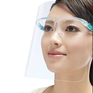 투명 안면보호 마스크 페이스쉴드 안경 플라스틱 가드
