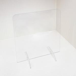 투명 칸막이 가림막 막힘 3T 방탄 아크릴 높이 400mm