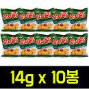 감자알칩14g x10봉(매운볶음고추장맛) 과자간식포카칩