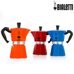 (현대Hmall) 비알레띠  모카 컬러 커피메이커 6컵 +추가증정:세척용커피