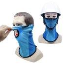 자외선차단 얼굴 햇빛가리개 UV차단 마스크 안전모