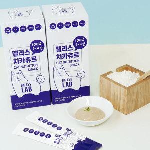 밸리스 치카츄르 15g X 20개 대용량 국산 고양이 간식