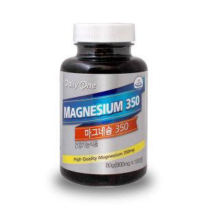 마그네슘 350 1병(100정)/눈떨림/미국직수입제품