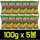 포테이토맛 스낵 100g x10봉 과자/오감자포카칩새우깡