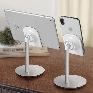 스마트폰 아이패드 핸드폰 태블릿 거치대 S1 (실버)
