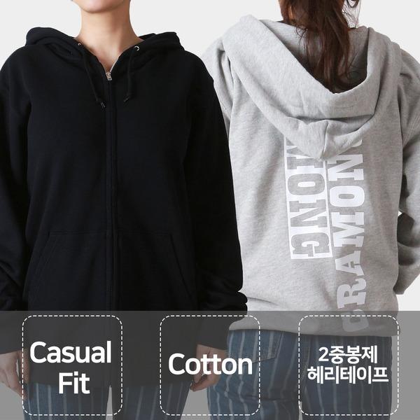 후드집업 아우터 바람막이 남녀공용 CRJHJ01