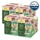 에코그린 미용티슈 180매 6입 4팩 각티슈 화장지