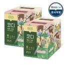 에코그린 미용티슈 180매 6입 2팩 각티슈 화장지