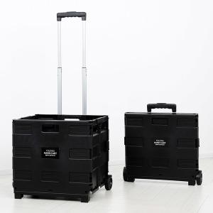 접이식 핸드카트(35kg) 블랙 60L/쇼핑카트/장바구니
