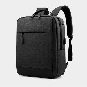 성인 얇은 공항 남자친구 출근 백팩 뒤로매는가방
