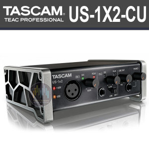 TASCAM US-1X2-CU/2in-2out USB 오디오인터페이스