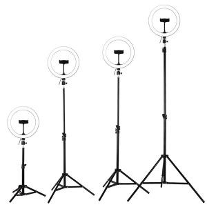 LED링라이트 사이즈26cm+삼각대50cm 1인 개인방송조명