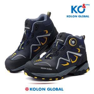 코오롱 글로벌 안전화 KG-60 6인치 다이얼 작업화